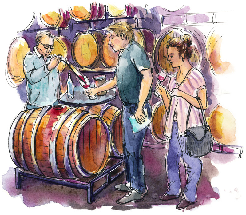 Pedroncelli-Winery-Barrel-Tasting_s2